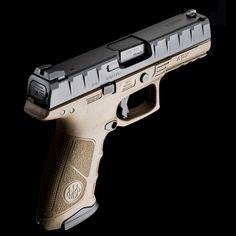 Beretta APX pistol - flat dark earth body & backstraps