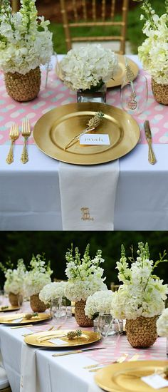 Lovely Pineapple Party Decorations  - See More Lovely Pineapple Party Ideas At B. Lovely Events!