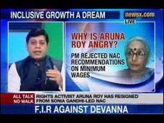News X : Aruna Roy's letter to Sonia Gandhi