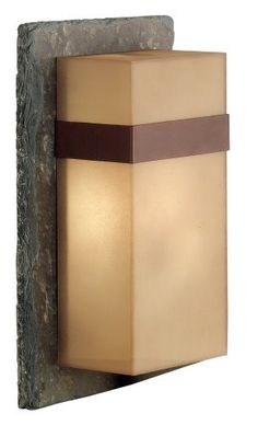 Kenroy Home 70506SL Sacramento Outdoor Large Wall Lantern by Kenroy Home. $187.20. From the Manufacturer                Kenroy Home Sacramento outdoor large wall lantern. Slate with painted copper finish and painted copper Acrylic Shade. Natural materials and an organic look define the modern architectural style. This carefully crafted entry lantern adds distinction to any home. Bulb included. Energy Star rated.                                    Product Description   ...