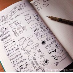 Doodles and sketches #bulletjournal
