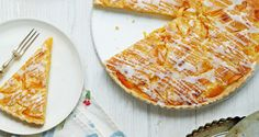 This Apricot Frangipan Tart Recipe by Mary Berry is a delicious and light addition to a spring feast.
