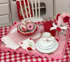 A personal favorite from my Etsy shop https://www.etsy.com/listing/238374327/donut-delight-dessert-board-dollhouse