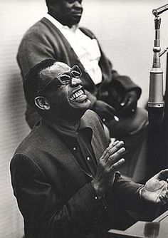 Ray Charles photographed by Bill Ray.