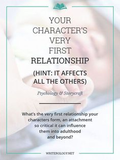 What's the very first relationship your characters form, an attachment so critical it can influence them long into adulthood? Writing Romance, Writing Promps, Book Writing Tips, Writing Characters, Writing Workshop, Writing Quotes, Fiction Writing, Writing Help, Writing Goals