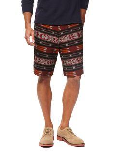 Ikat Stripe Shorts