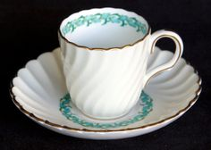 Minton's China Lady Rodney Demitasse Tea Cup by MayberryGraphics