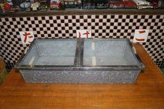 Glass Case 駄菓子 ガラスケース ブリキ レトロ 分割型 2 アンティーク インテリア 雑貨 家具 Antique ¥5000yen 〆12月09日