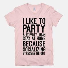 For when you want to redefine some key terms: | 22 Shirts Every Introvert Should Own