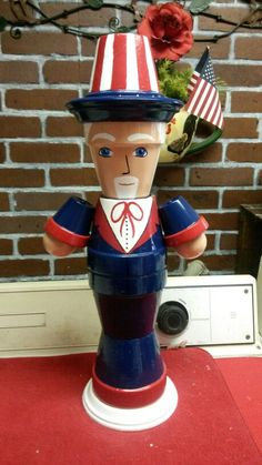 Another clay pot uncle sam