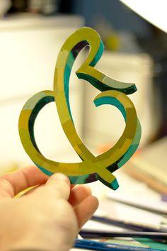 #Ampersand by Darren Booth / darrenbooth.com