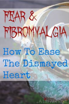 Fear kills any joy I find in my life with chronic illness. This article is a great reminder that I have more control over this with my Fibromyalgia CFS/ME than I think I do!*Pin Now For Later