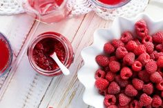 Love jam but hate the sugar? IQS sugar-free Raspberry Chia Jam. Cant wait to try this one!