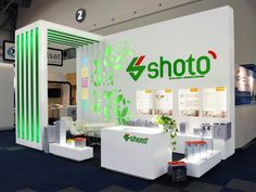 South African Exhibition Stand design and implementation Talent - HOTT3D