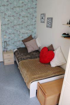 Het opruimen van mijn kamer of opnieuw inrichten van mijn kamer vind  ik erg leuk om te doen.