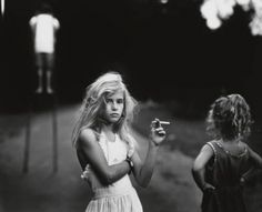 'Candy Cigarette' Photograph by Sally Mann (1989)