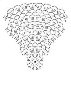 Crochet Pillow Patterns Part 11 - Beautiful Crochet Patterns and Knitting Patterns Free Crochet Doily Patterns, Crochet Doily Diagram, Crochet Chart, Thread Crochet, Filet Crochet, Crochet Motif, Crochet Doilies, Crochet Flowers, Crochet Stitches