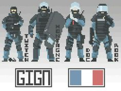 GIGN Pixels Author:NotFuji
