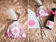 Kate Spade Inspired Polka Dot 'Will You Be My Bridesmaid? Customized Gift Box  Photo by @hopetaylorr