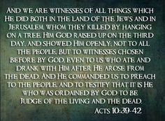Acts 10:39-42
