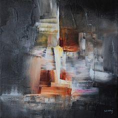umj.art - Ulla Maria Johanson: 2018-03-17 #1223DistributionAcrylic on canvas, 2...