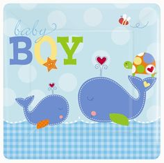 plates 8ct baby shower party supplies baby shower parties baby boy