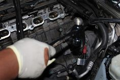 Starter Replacement On Engines Bmw X5 E70, Engineering, Technology