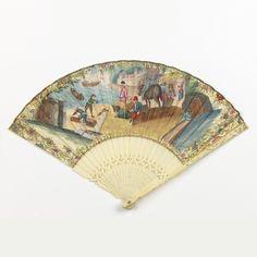 Pleated Fan (Holland), ca. 1730