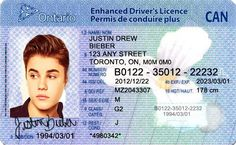 Canada Driver's License Editable PSD Template Download - $5.00 : ScrapPNG, Digital Craft Graphics