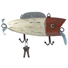 wooden lures for the wall