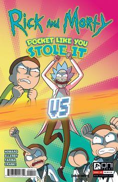 RICK & MORTY POCKET LIKE YOU STOLE IT #4