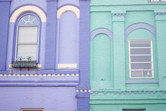 sweet color houses