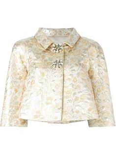 Shop Dolce & Gabbana floral brocade jacket in Julian Fashion from the world's best independent boutiques at farfetch.com. Shop 400 boutiques at one address.