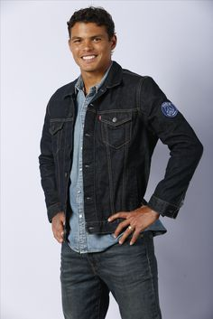 Thiago Silva wears the Levi's Denim for the Paris Saint-Germain