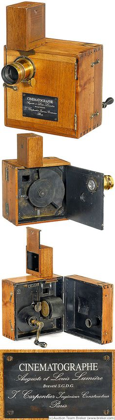 Lumiere & Cie: Cinematographe camera
