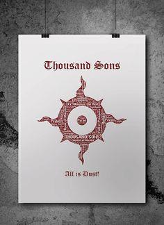 Thousand Sons Pre-Heresy Warhammer 40K Printable by ZsaMoDesign