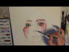 Water colour painting - YouTube