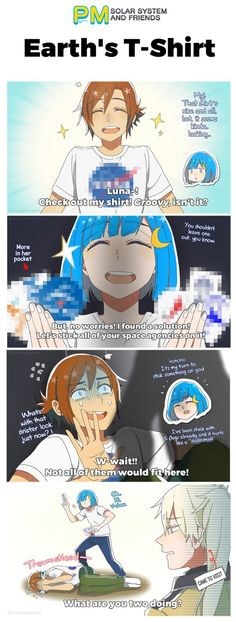earth chan comics