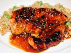 Chicken With Sweet Chili Sauce!! Yummy, made this yesterday for lunch... super simple and delicious!!!