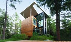 The design for this stylish house was inspired by a traditional party game