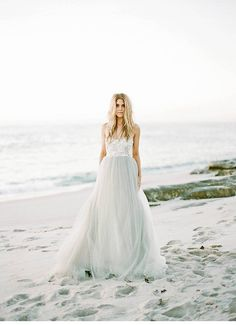 seaside wedding inspirations, photo Morgan Lamkin | www.hochzeitsguide.com