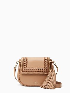 ef84903d1c Tassels: Your Most Versatile Spring Accessory | Beach Chic Blog Brown  Leather Crossbody Purse,