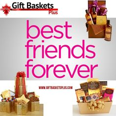 """Friendship isn't about whom you have known the longest... It's about who came, and never left your side...    Our unique """"Thank You Gift Baskets"""" are a wonderful treat for your Best Friend. http://www.giftbasketsplus.com/specialty-gift-baskets/thank-you-gift-baskets/"""