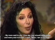 amandanicole-dance: Cher wins at life lets just... - chronicles of charlotte