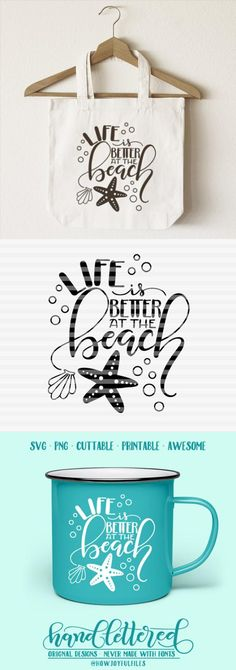 39+ Feeling Beachy – Svg – Pdf – Dxf – Hand Drawn Lettered Cut File SVG