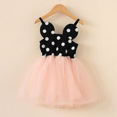 Minnie Dress Mouse Dot Pink Tulle Perfect for that special vacation or those family photos. Minnie Birthday, Girl Birthday, Birthday Ideas, Birthday Parties, Robes Disney, Minnie Dress, Mickey Mouse Dress, Baby Girl Dresses, Dress Girl