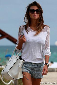 Claudia Galanti out in Miami, Florida - December 10, 2012