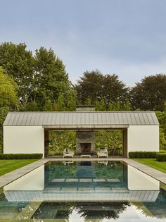 Gallery of Further Lane Pool House / Robert Young Architects - 6