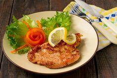 dreamstime_m_51414888 Veal Cutlet, Pork Cutlets, Pork Loin, Italian Foods, Italian Recipes, Seasoned Bread Crumbs, Oil For Deep Frying, Vegetable Recipes, Finger Foods