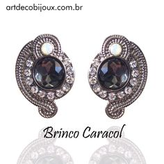 ✨Destaque do dia: Brinco Caracol! #bijoux #acessoriosfemininos #acessorios #luxo #loucasporacessórios #brinco #brincocaracol